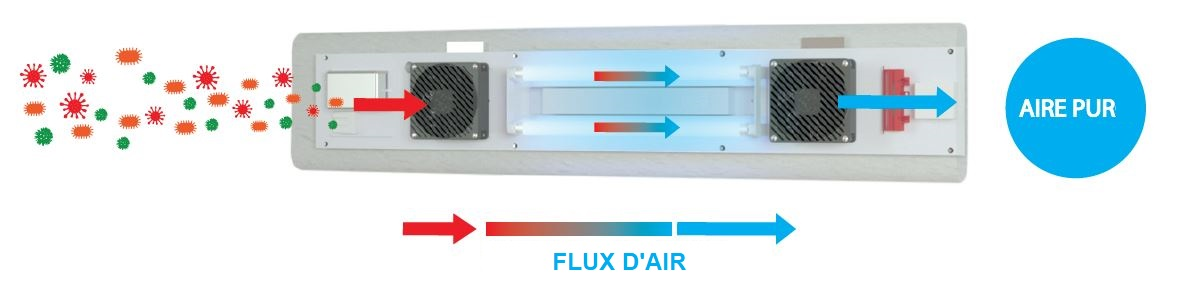 AIR CLEANER FLUX D AIR